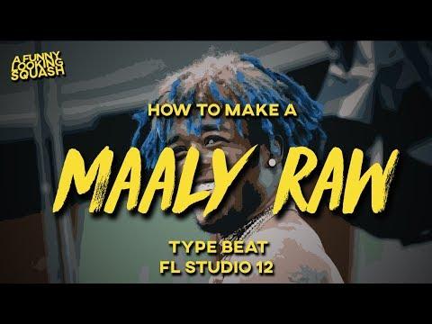 [FL Studio 12 Tutorial] How to make a MAALY RAW x LIL UZI VERT type beat