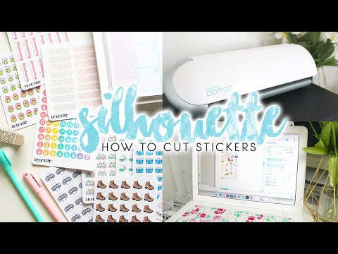 How to Make Planner Stickers | Silhouette Portrait