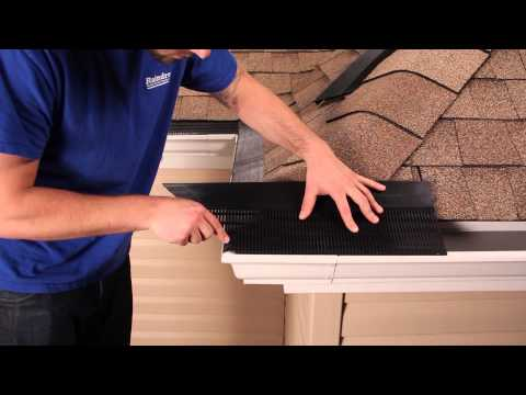 Outside Corner Miter Installation | Raindrop® Gutter Guard