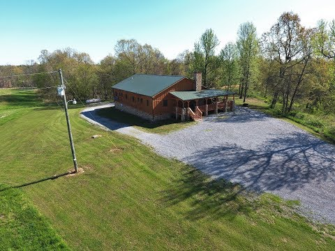 Magnificent Hunting Tract With Rustic Lodge in Western KY