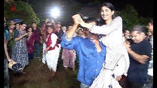 Salman Khan & His Bhanji Crazy Dance On Ganpati Visarjan On  Road Mumbai With Khan Family 2019