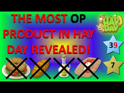 HAY DAY - THE MOST OVERPOWERED PRODUCT IN HAY DAY REVEALED!
