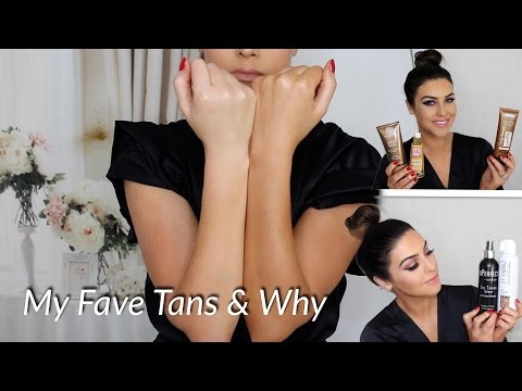 My Favourite Tanning Products & Why!