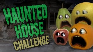 Annoying Orange - Haunted House Challenge