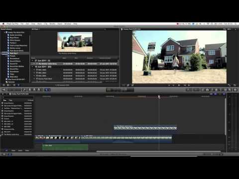 Final Cut Pro X Basics Tutorial Pt. 12 - Creating Stills / Freeze Frames