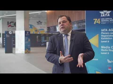 Sebastian Mikozs at IATA 2018