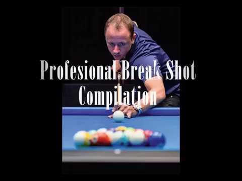 Professional Pool Break Compilation. Shane, Ko, Francisco, Earl