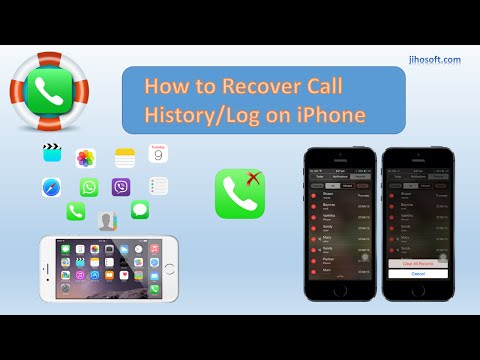 How to Recover Deleted or Lost Call History/Log on iPhone