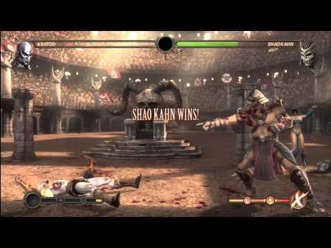 [HD] MK9 Kratos Ladder Gameplay Pt. 5