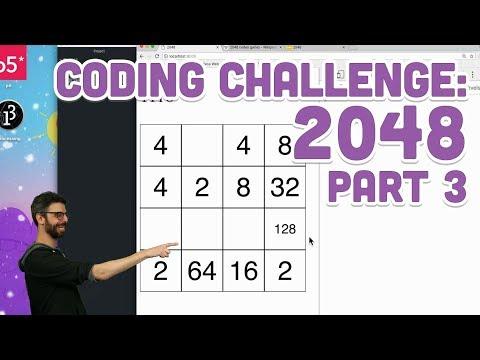Coding Challenge #94.3: 2048 - Part 3