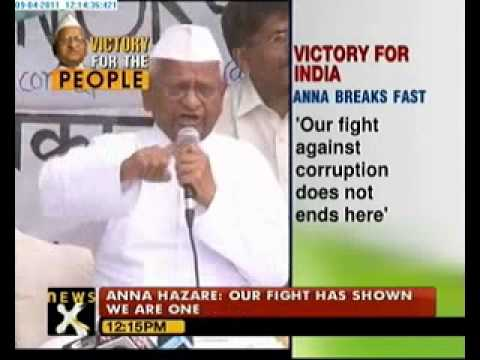 Fighting Corruption: India wins again, Anna Hazare ends fast