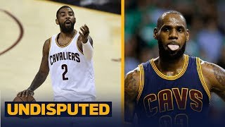 LeBron James posts another cryptic tweet - was it directed at Kyrie Irving? | UNDISPUTED
