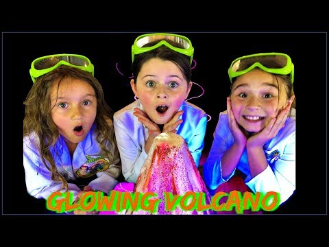 How To Make a VOLCANO ERUPTION!  Easy Kids Science Experiments
