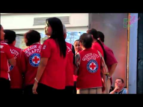 Marian Rivera's Blood Donation Drive with Philippine Red Cross 8-11-12