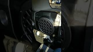 Removing Factory Subwoofer In Fj Cruiser