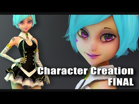 3D Character Design Contest 2016 - Cute Doll