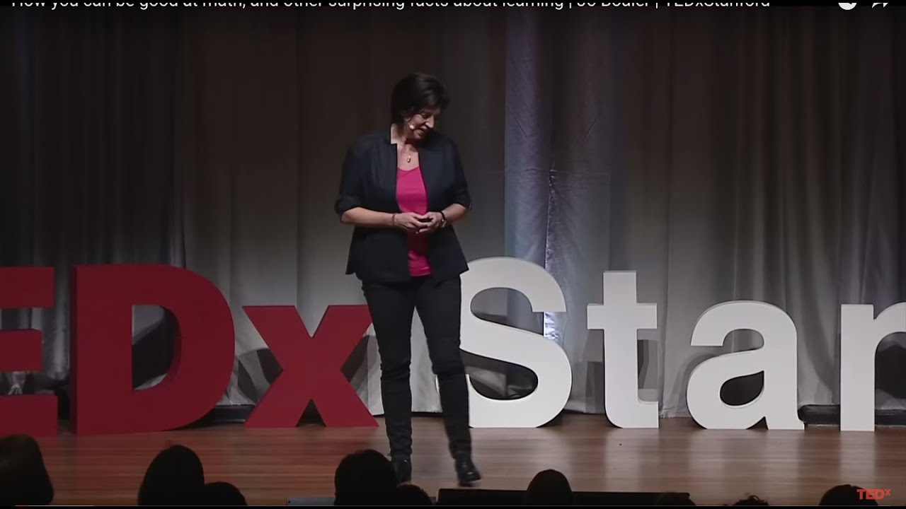 How you can be good at math, and other surprising facts about learning | Jo Boaler | TEDxStanford