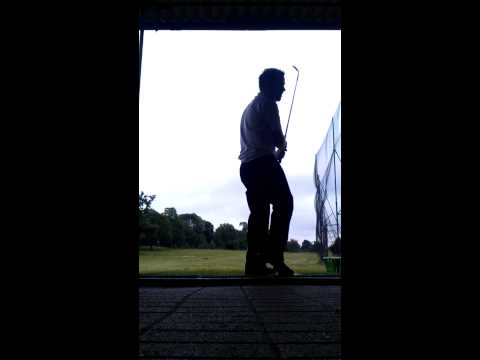 Hitting the roof of a driving range - 60 degree wedge
