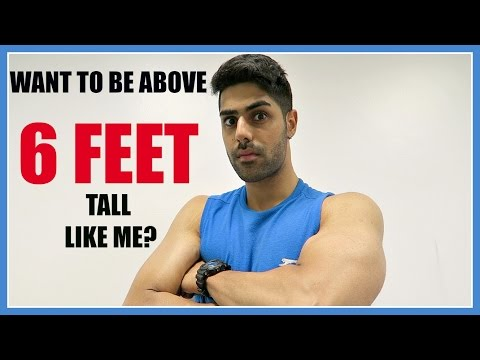 How To Grow TALLER & Increase Your HEIGHT - MY SECRETS REVEALED!!