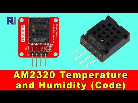 Introduction to AM2320 Digital Temperature and Humidity Sensor