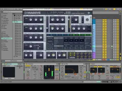 Song Ideas with Massive Vst Deep House: Presets in Action
