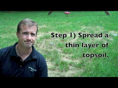 Lawn Care: Topsoil Topdressing