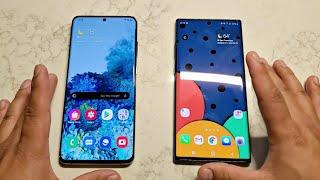 Samsung Galaxy S20 Ultra Vs Galaxy Note 10 Plus Quick Comparison