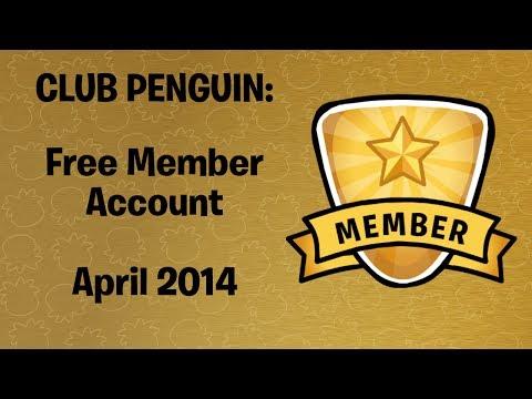 FREE MEMBER CLUB PENGUIN ACCOUNT APRIL 2014