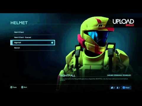 Halo 5 beta | Nightfall armour unlock
