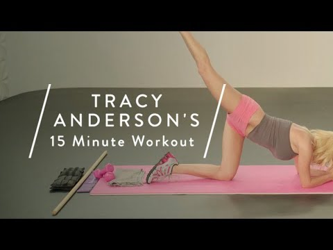 Tracy Anderson's 15 minutes workout for goop readers