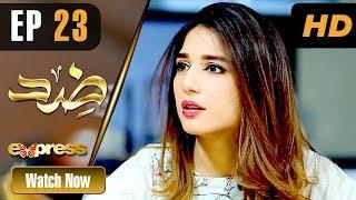 Pakistani Drama   Zid - Episode 23   Express TV Dramas   Arfaa Faryal, Muneeb Butt
