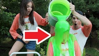 I SLIMED MY BROTHER!!
