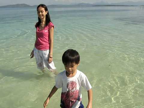 KEN&MOMMY IN PANDAN ISLAND PALAWAN