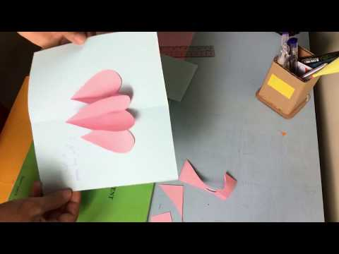 How to make paper heart ❤❤ subscribe pls