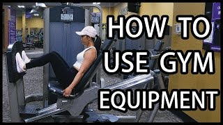 How to Use Gym Equipment | Beginner