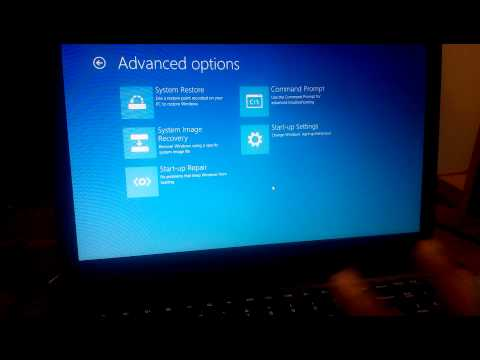 How to enable Virtual Technology (VT-x) from BIOS in win8/8.1 if U don't find UEFI Firmware Settings