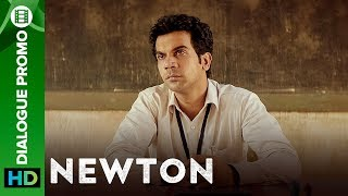 Newton | Elections inside a warzone
