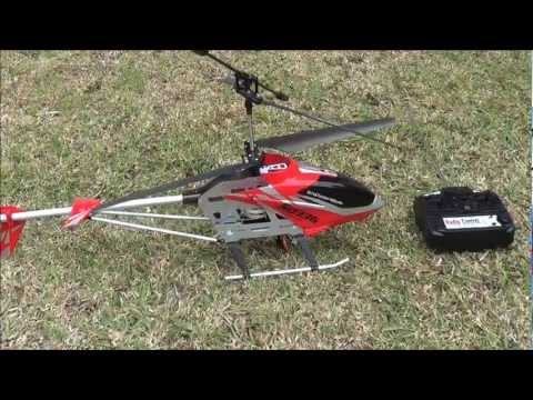 Toy RC Helicopter S033G - just learning how to fly