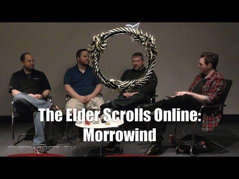 Elder Scrolls Online Morrowind 40 min Q&A with 3 top developers