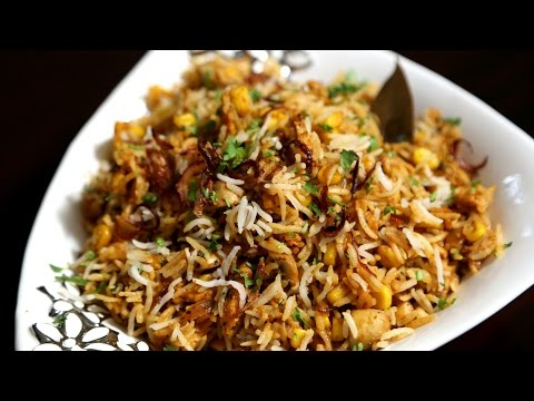 Corn Pulao Recipe | How To Make Corn Pulav | Ruchi's Kitchen