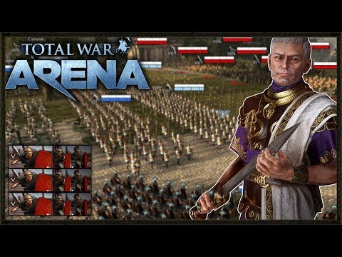 MAD Infantry Battle! - Total War: Arena Gameplay