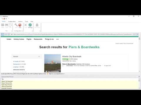 How to extract overall review rating and review breakup values in TripAdvisor | Webharvy