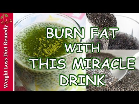 CHIA SEEDS FAT BURNING RECIPE WITH GREEN TEA Weight Loss चिया बीज वजन घटना