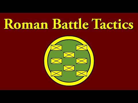 Roman Battle Tactics