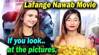 Poster launch of #Lafange Nawab Movie First Poster Launch With Starcast  || Latest Bollywood