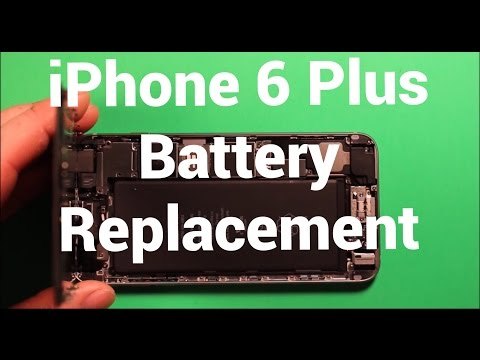 iPhone 6 Plus Battery Replacement How To Change