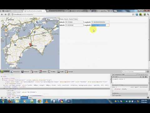 Using google maps with datas saved in DB part 1