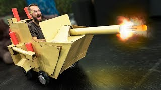 NERF Hover Tank Challenge!