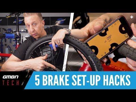 Hydraulic Mountain Bike Brake Setup Hacks | GMBN Top 5