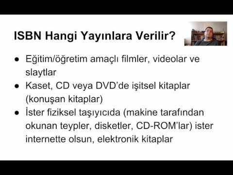 ISBN, ISSN ve ISMN